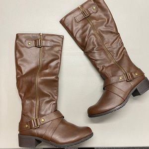 SO Brown Knee High Boots